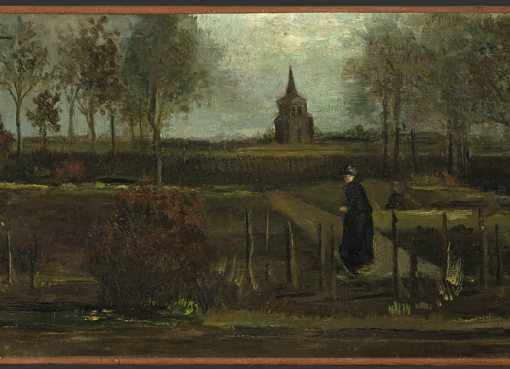 Motocyklista w stroju kowbojskim ukradl obraz Vincenta Van Gogha